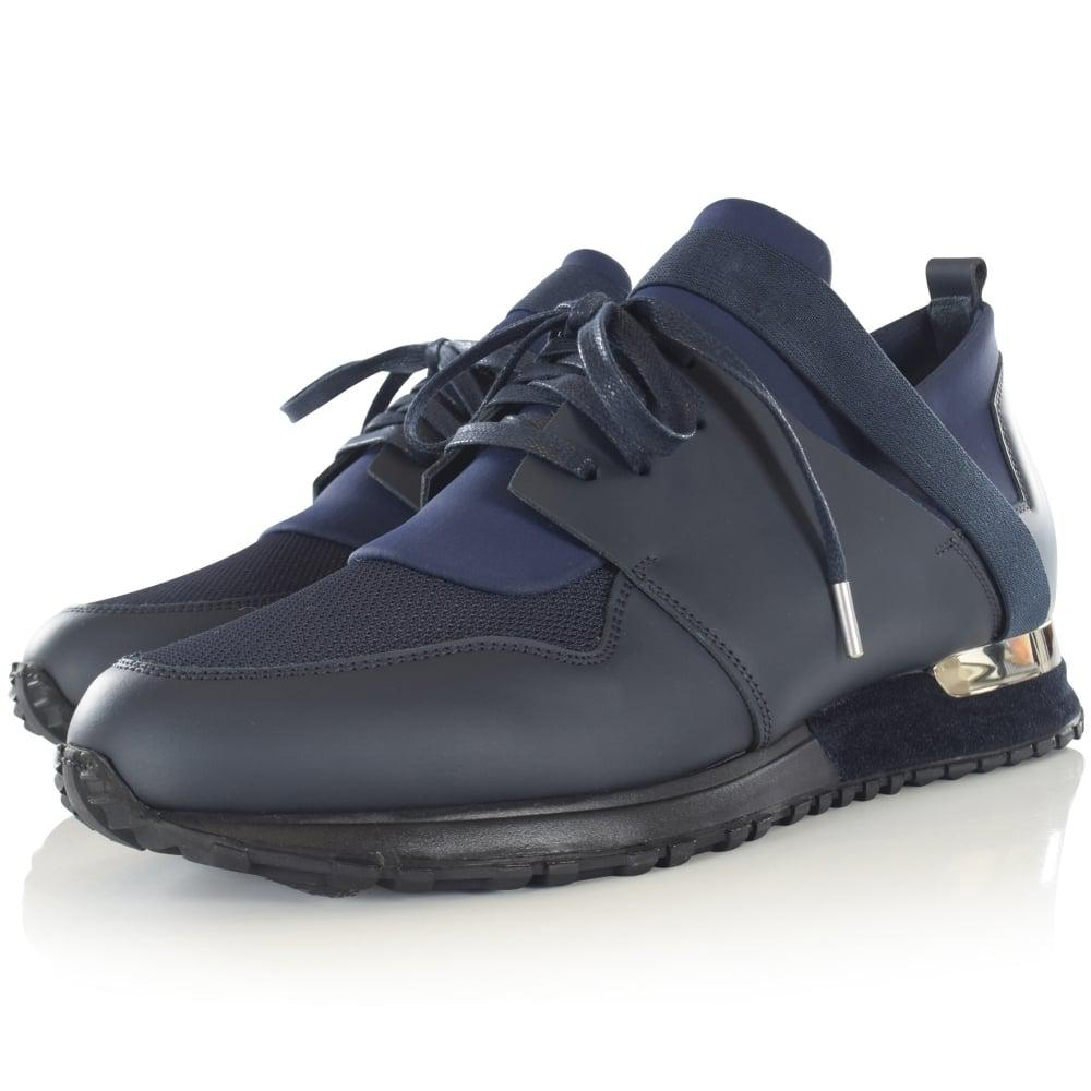 Mallet Leather Mallet Navy Elast