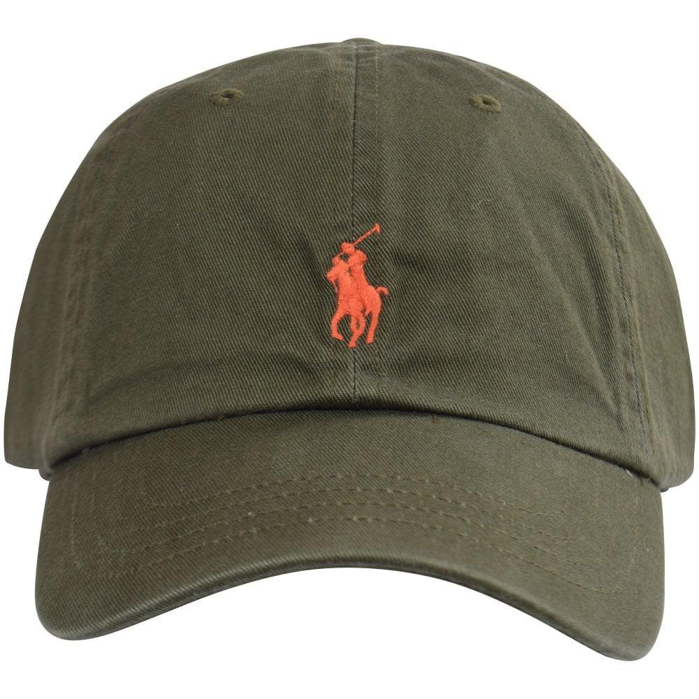 Lyst - Polo Ralph Lauren Classic Pony Cap in Green for Men - Save ... d549a9cda87