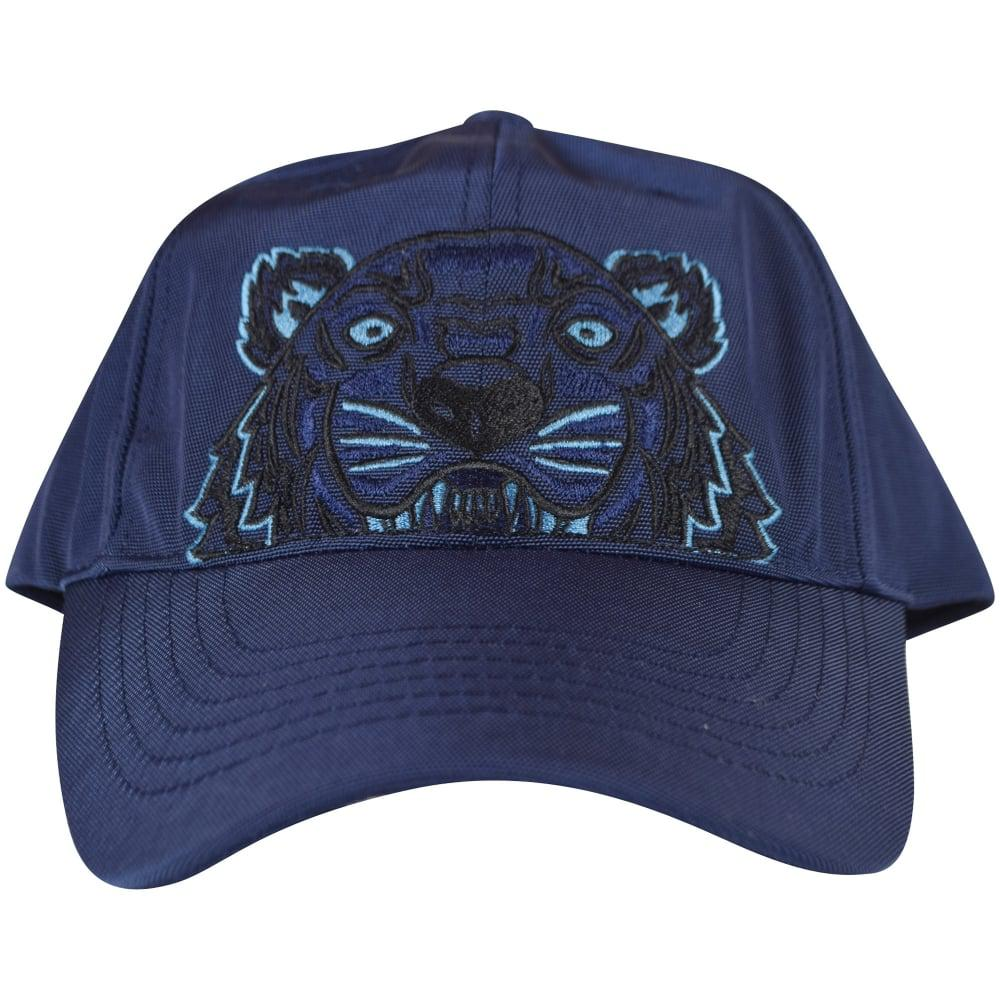 694f6823ab3 Lyst - KENZO Navy Blue Tiger Logo Cap in Blue for Men - Save 18%