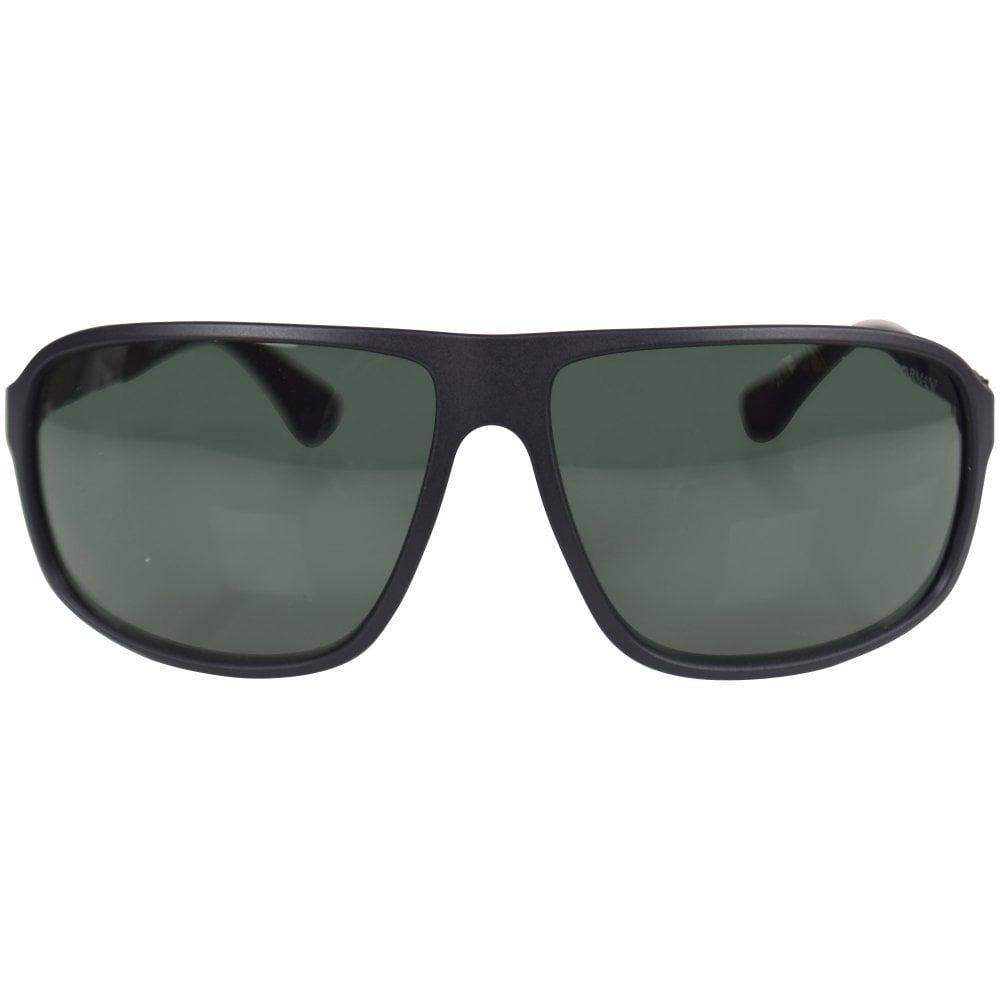 7bb64d5cc4d7 Lyst - Emporio Armani Matte Black 4029 Sunglasses in Black for Men
