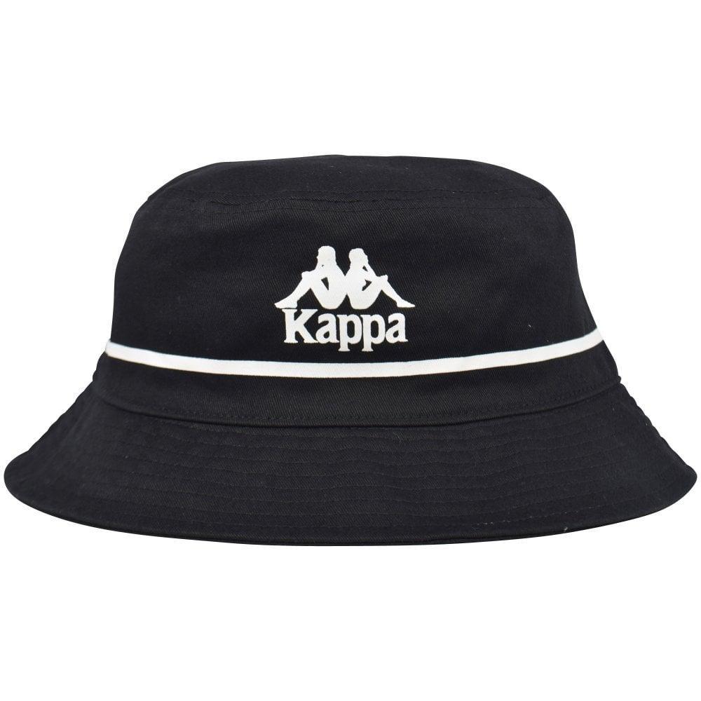 a7c92ffe8d97e Kappa - Black white Authentic Bucket Hat for Men - Lyst. View fullscreen