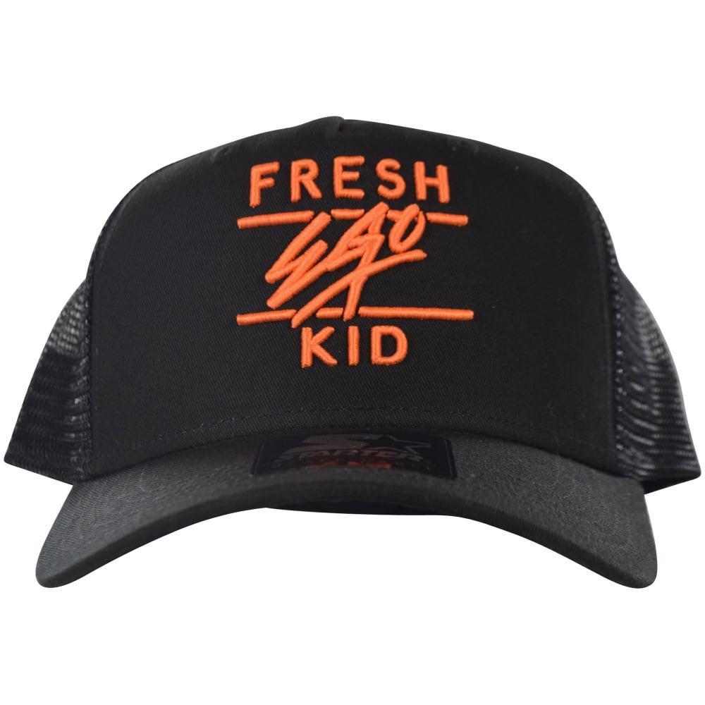 fe1448cb613 Lyst - Fresh Ego Kid Mesh Trucker Cap S077 in Black for Men
