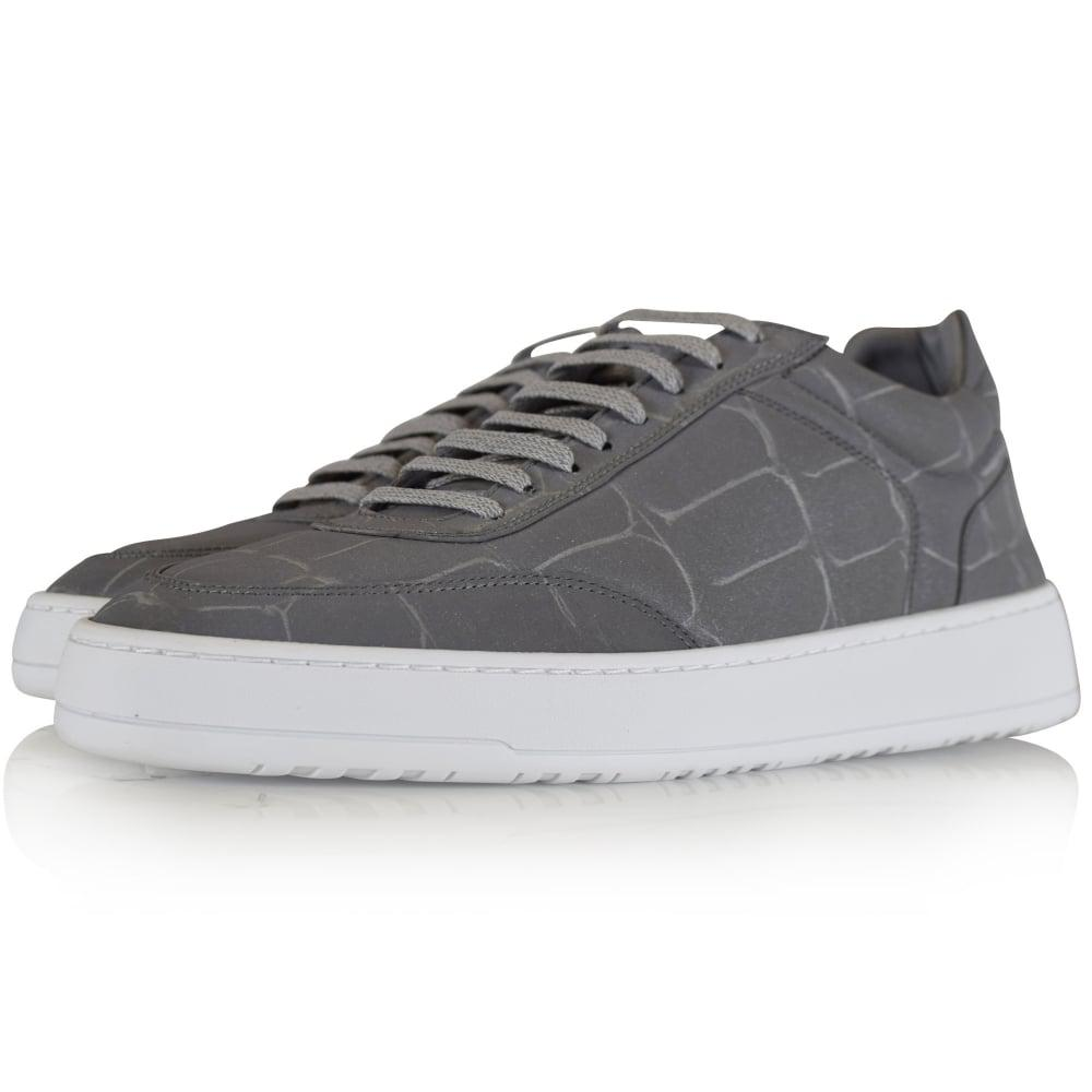 Lyst - Etq Reflective Croc Low 5 Trainers for Men d776b5355a1e