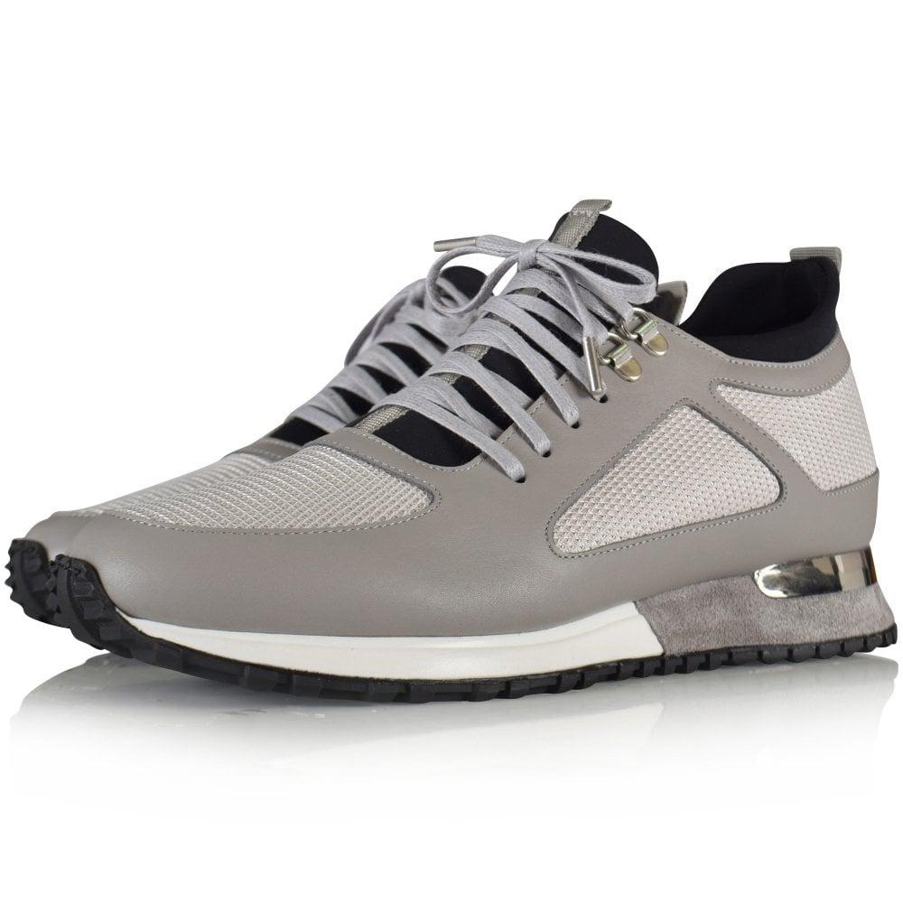 Mallet Grey Diver Trainers in Grey for Men
