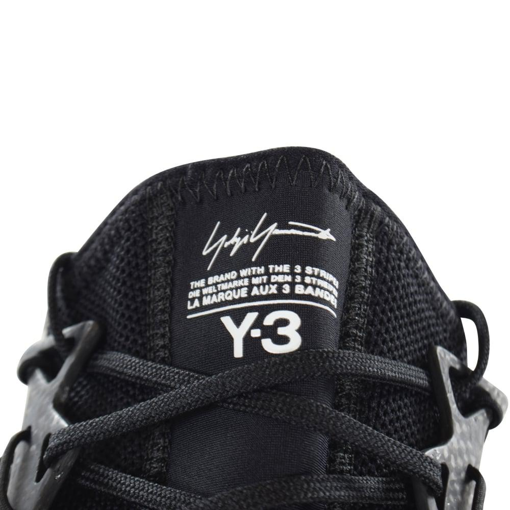 Y-3 Lace Black Harigane Trainers for Men