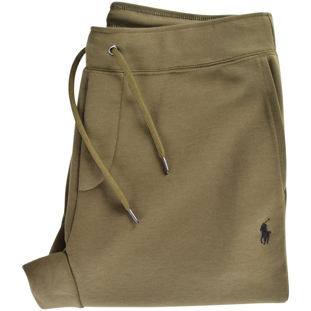 Polo Ralph Lauren Green Logo Sweatpants in Green for Men - Lyst 0566672f659