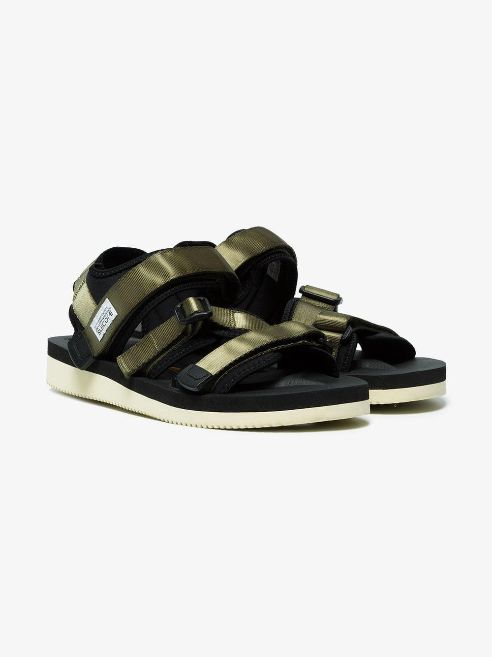 4c0f67697879 Suicoke Kisee Sandals in Green for Men - Lyst