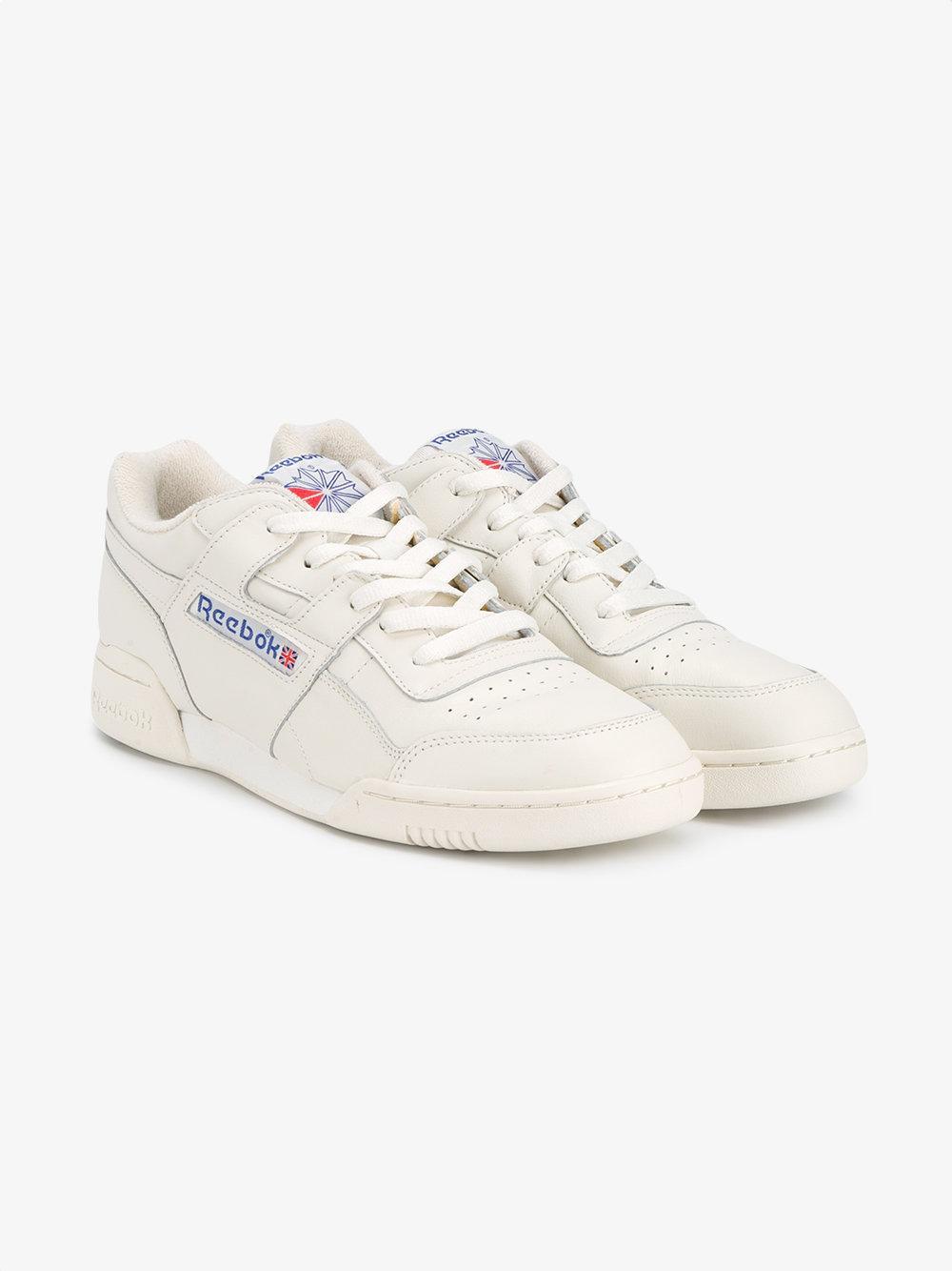 Reebok Workout Plus Vintage Sneakers for Men - Lyst 323ba91e1