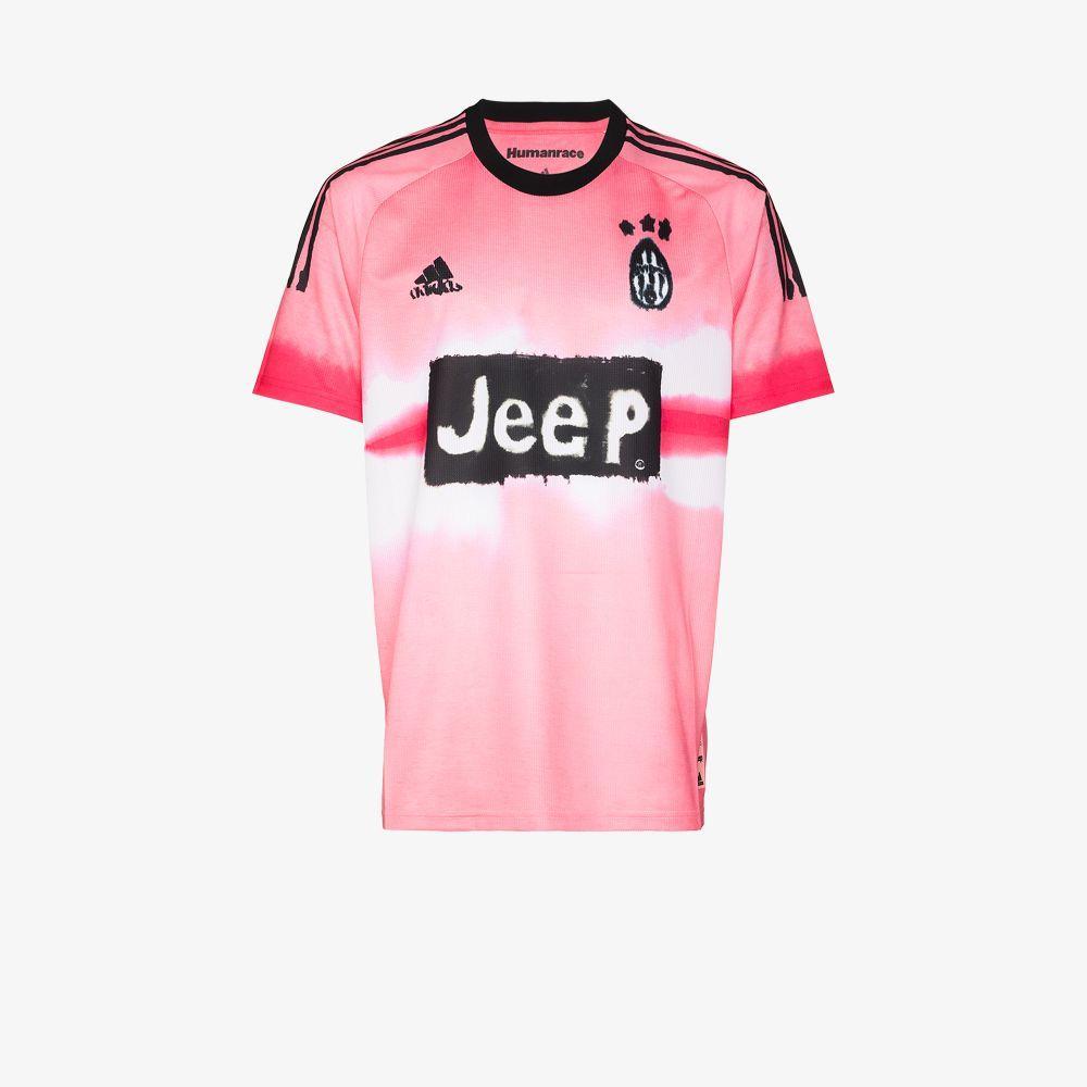 adidas Cotton Human Race Juventus T-shirt in Pink for Men - Lyst
