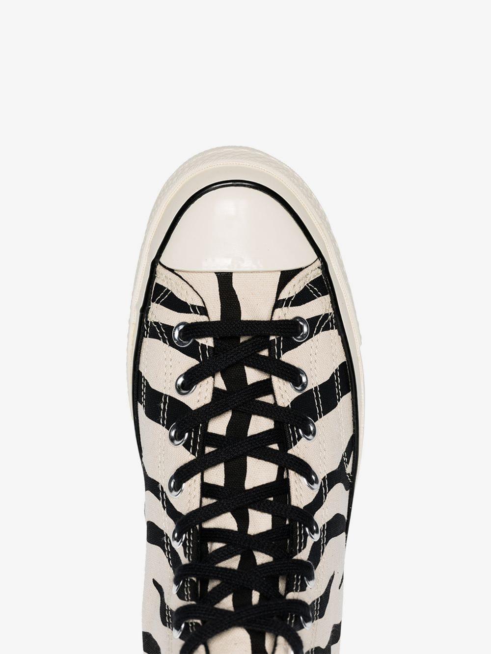 b770acd6edcc Converse - Black And White Chuck Taylor All Stars 70s Zebra Print High-top  Sneakers. View fullscreen