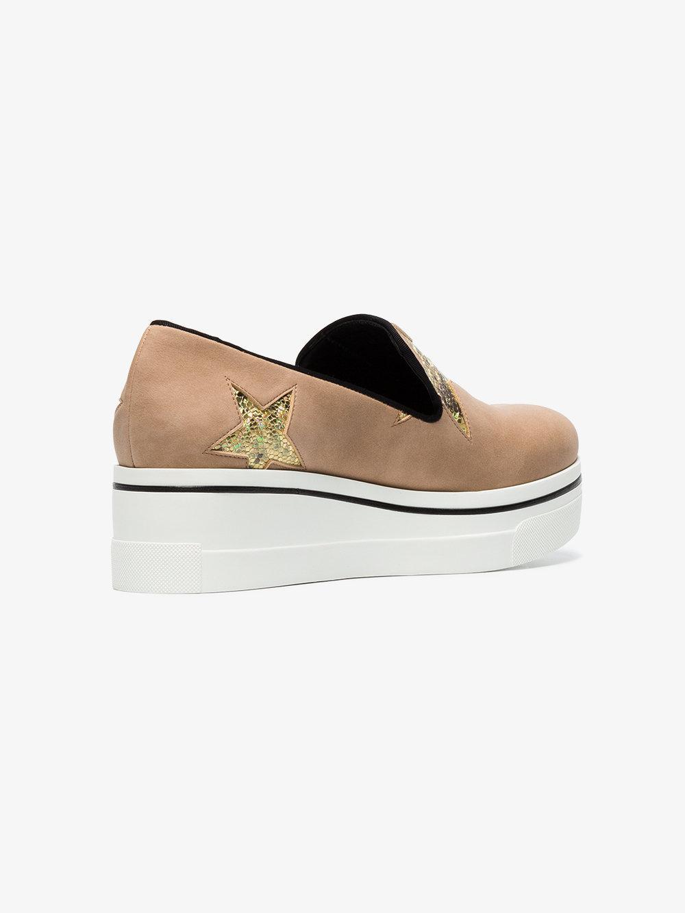 Stella McCartney Synthetic Stella Binx Slip-on Sneakers