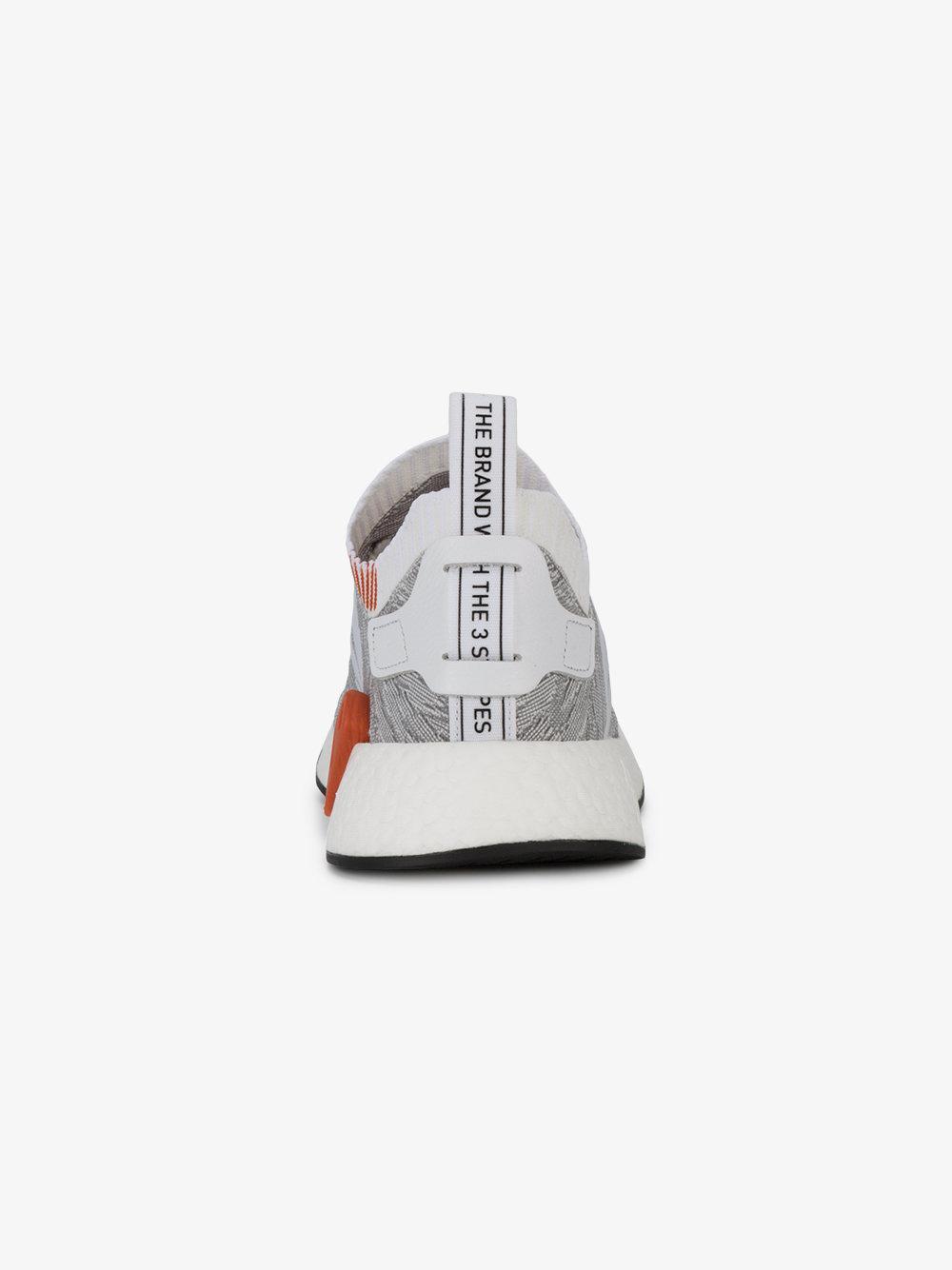 adidas Leather Nmd R2 Primeknit Leopard