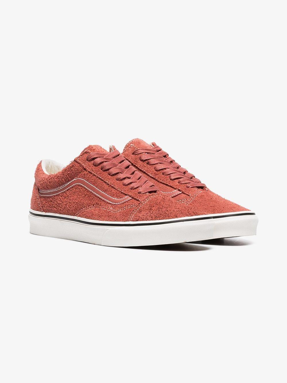 c19bc3dbf1 Lyst - Vans Red Hot Sauce Old Skool Suede Sneakers in Orange for Men ...