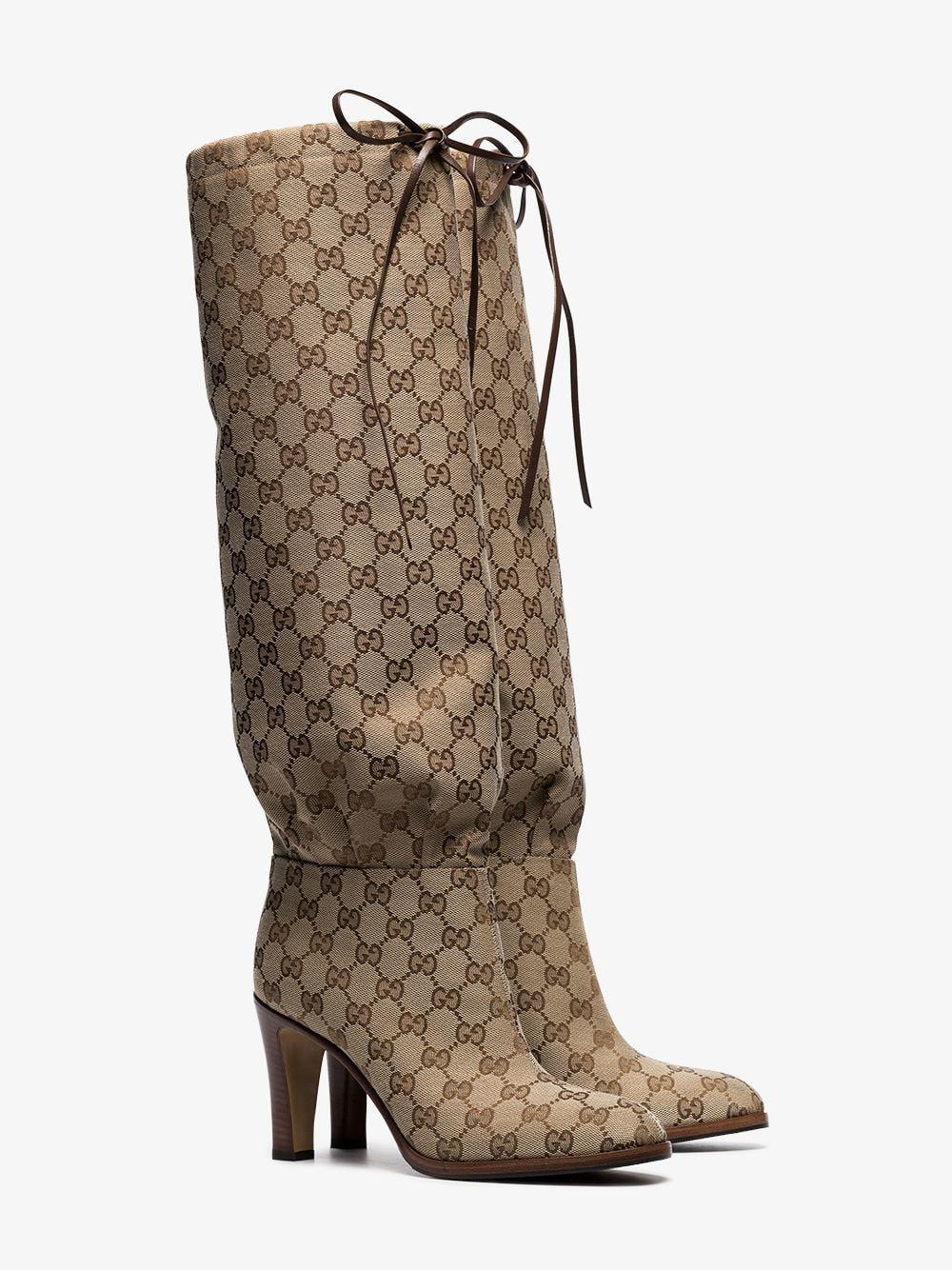 Gucci Original GG Over-the-knee Boots