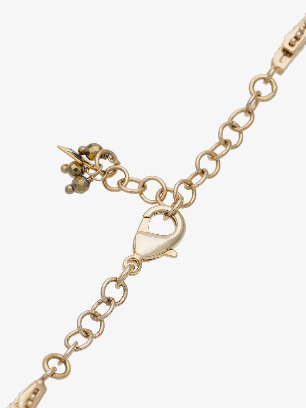 Rosantica Metallic Volutta Short Rope Necklace
