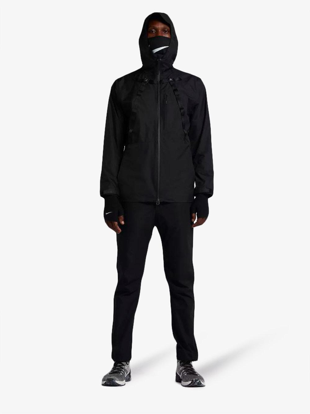 f869b911 Nike X Mmw Face Mask Jacket in Black for Men - Lyst