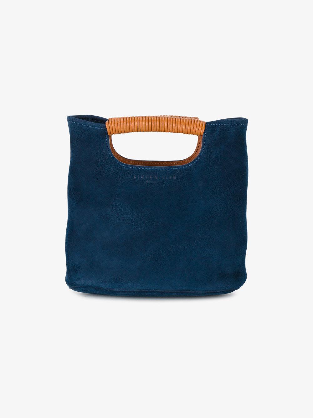 mini tote bag - Blue Simon Miller oM99u