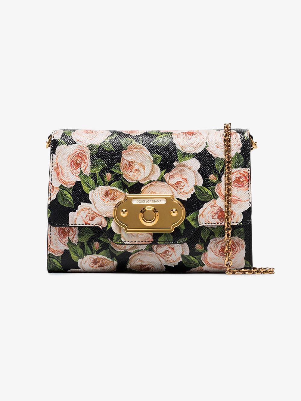 Dolce   Gabbana - Multicolor Multicoloured Roses Vintage Clasp Mini Bag -  Lyst. View fullscreen 2154ca64debdb