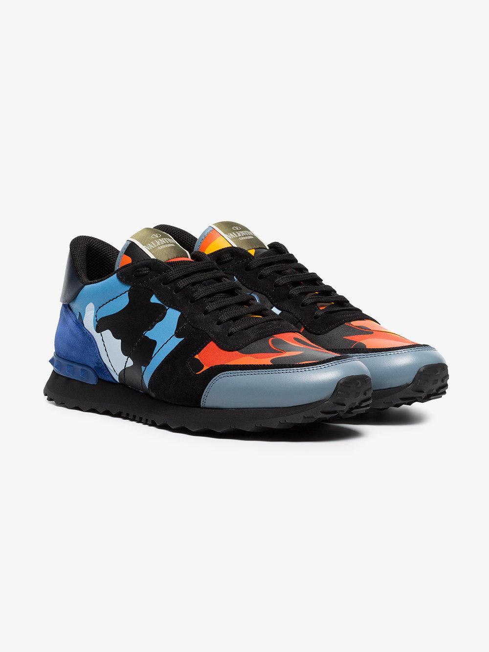 Valentino Black, Blue And Orange