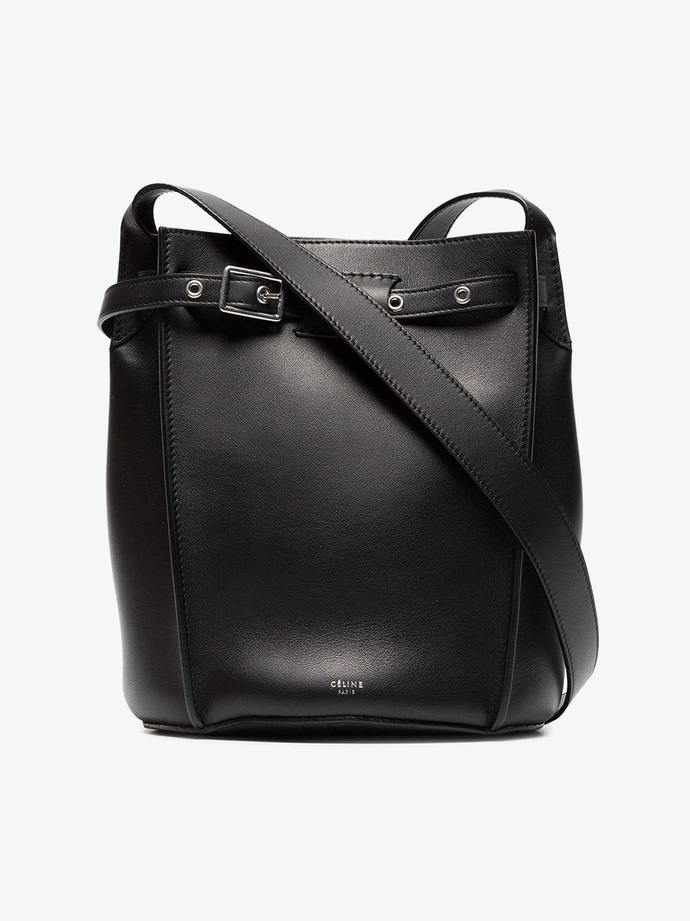 Lyst - Céline Big Bag Bucket in Black 06b3570a806e3