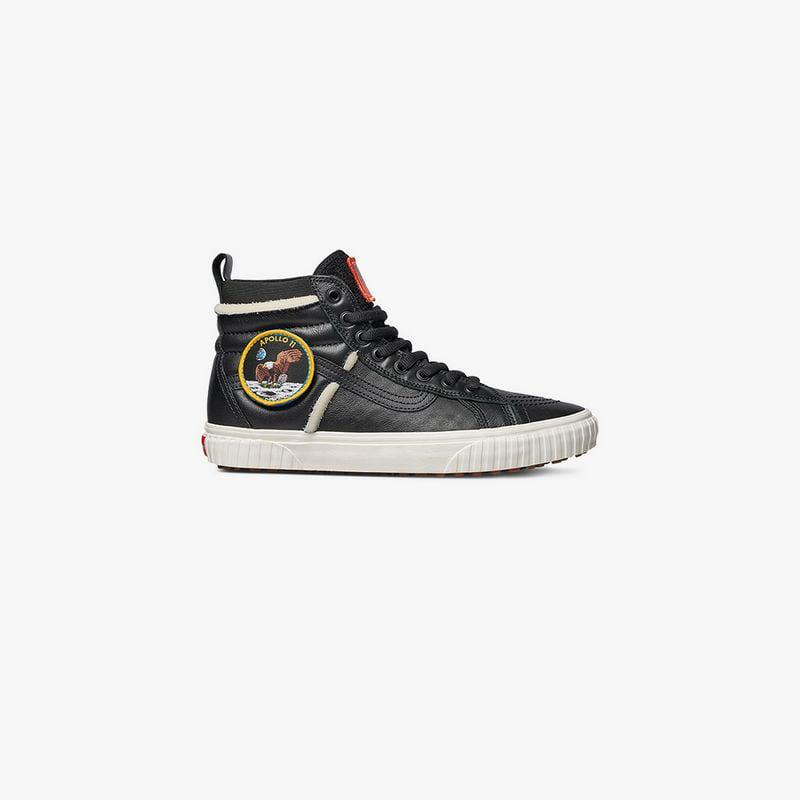 Black And White Nasa Sk8 Hi 46 Mte Dx Space Voyager Sneakers