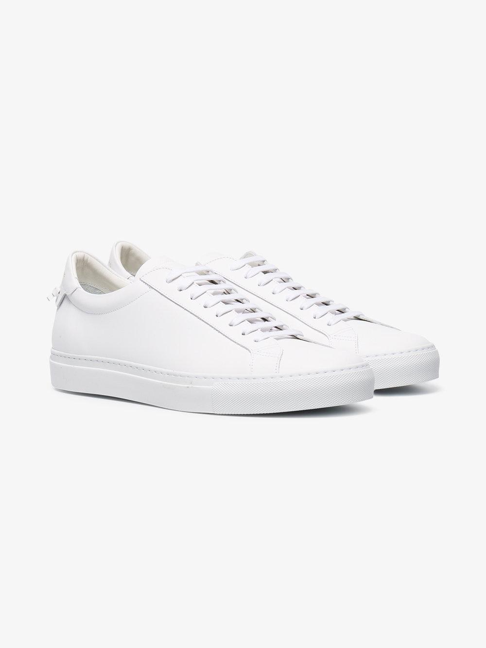 white Urban Knots lace-up sneakers Givenchy 7t0MgDPCq