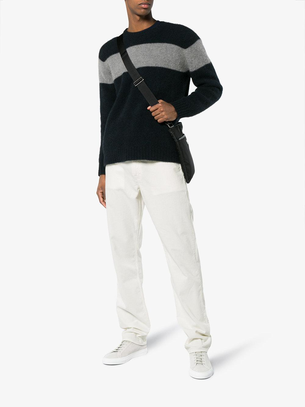 Our Legacy Second Cut Corduroy Trousers in White for Men