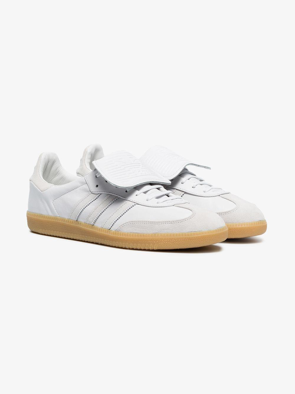 Sneakers Men Samba White For Recon Leather Lyst In Adidas 6yI4F0wqw