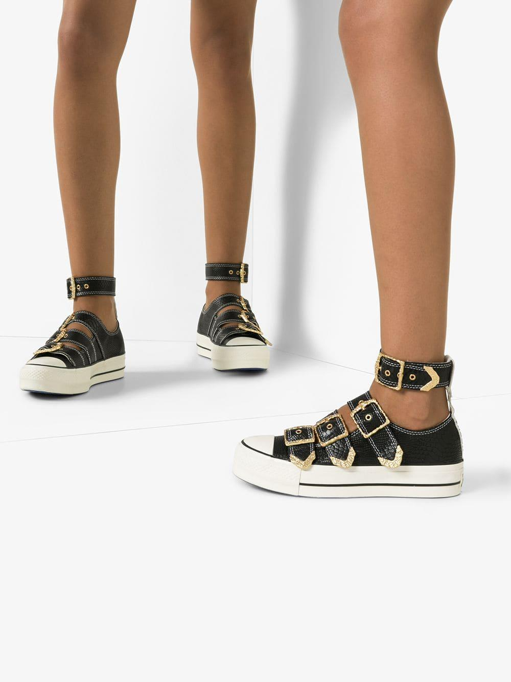 Converse Leather All Star Mary Jane Ox