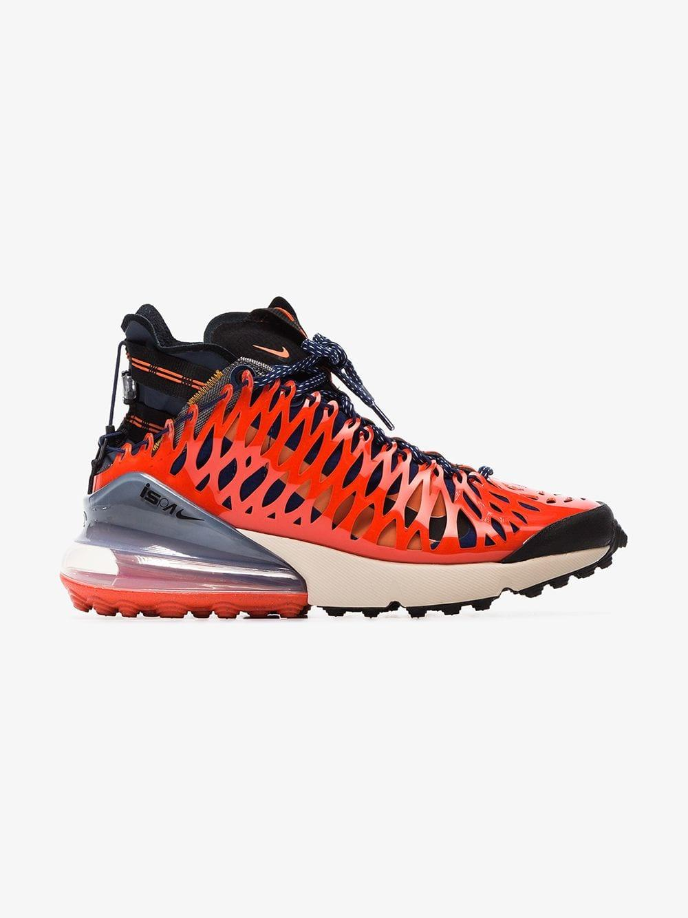 zniżka Data wydania nowy styl Blue And Red Ispa Air Max 270 High Top Sneakers