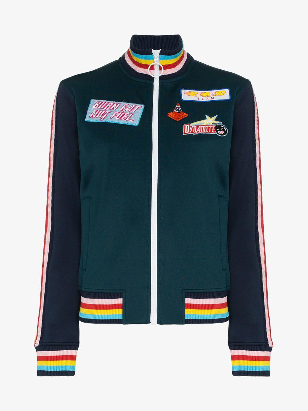 Fullscreen Green Lyst Embroidered View Jacket Patch Mira Bomber Mikati  87w5axqZ 7374c1c8d11a