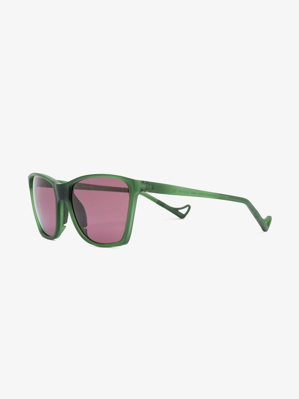 District Vision Rubber Green Keiichi District Sky G15 Sunglasses for Men