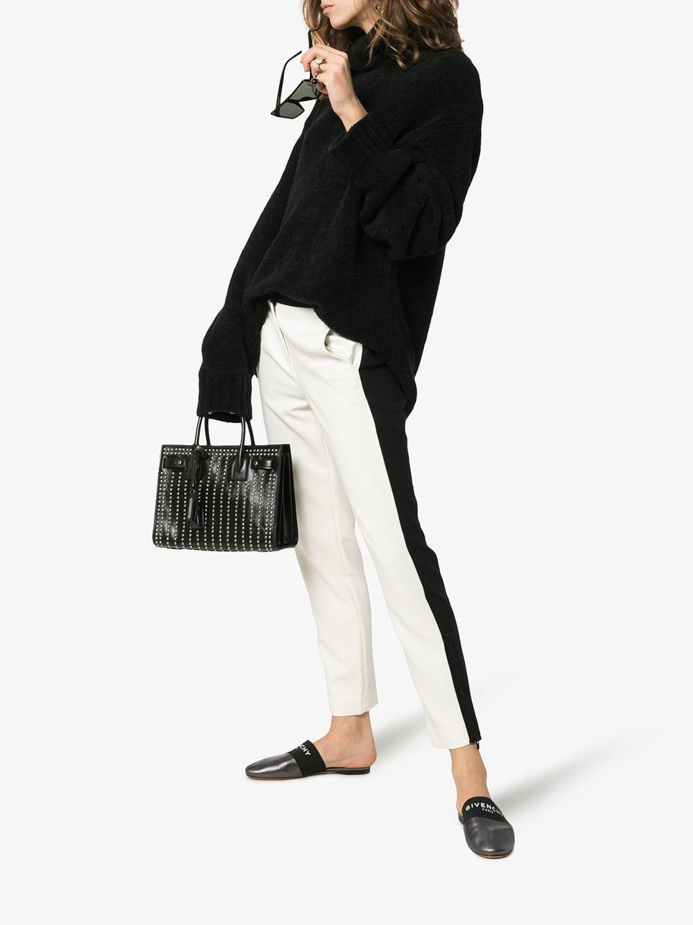 Givenchy Bedford Leather Slippers in