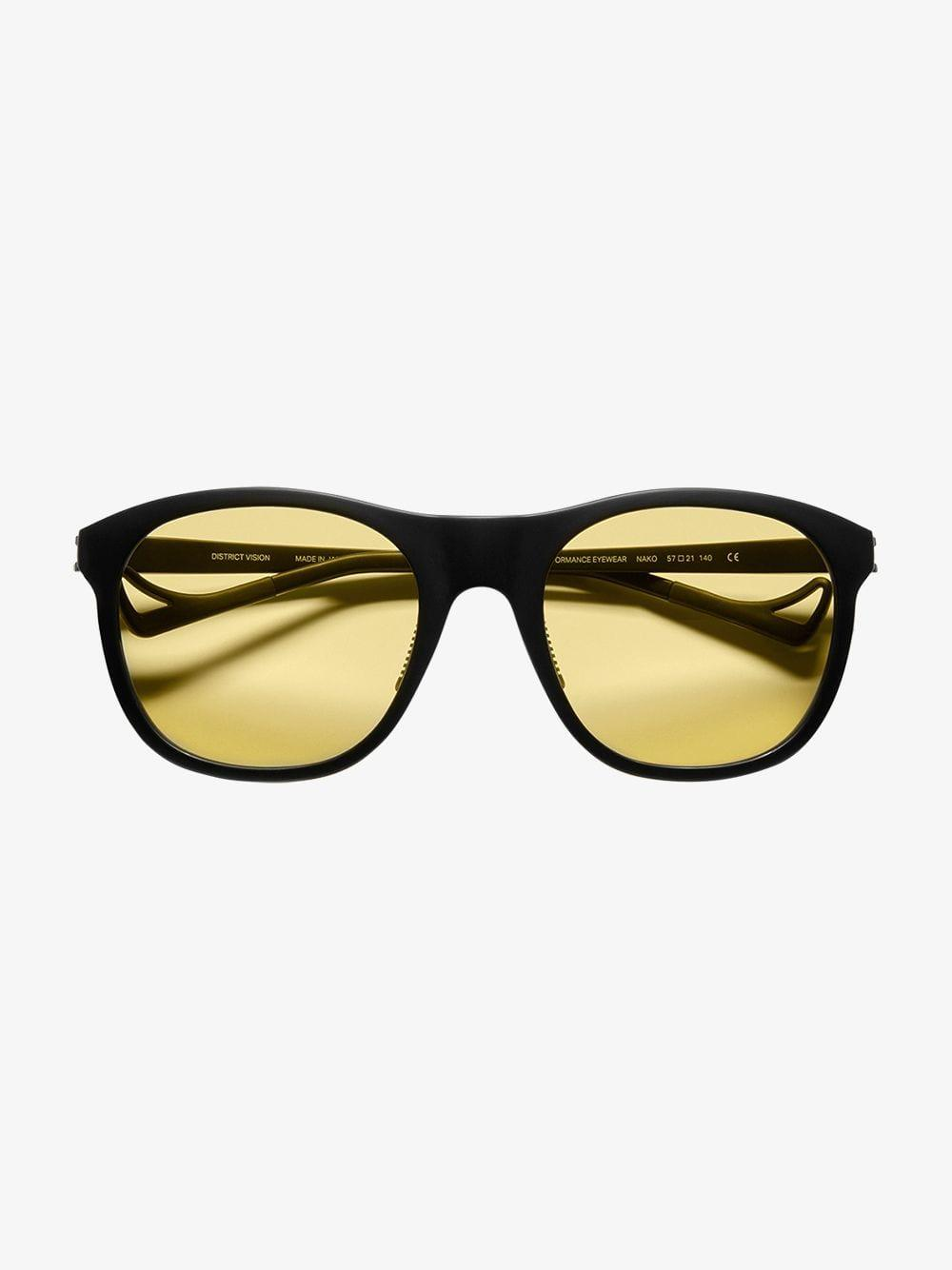 5f80fd9c9ca Lyst - District Vision Nako District Sports Yellow in Black for Men