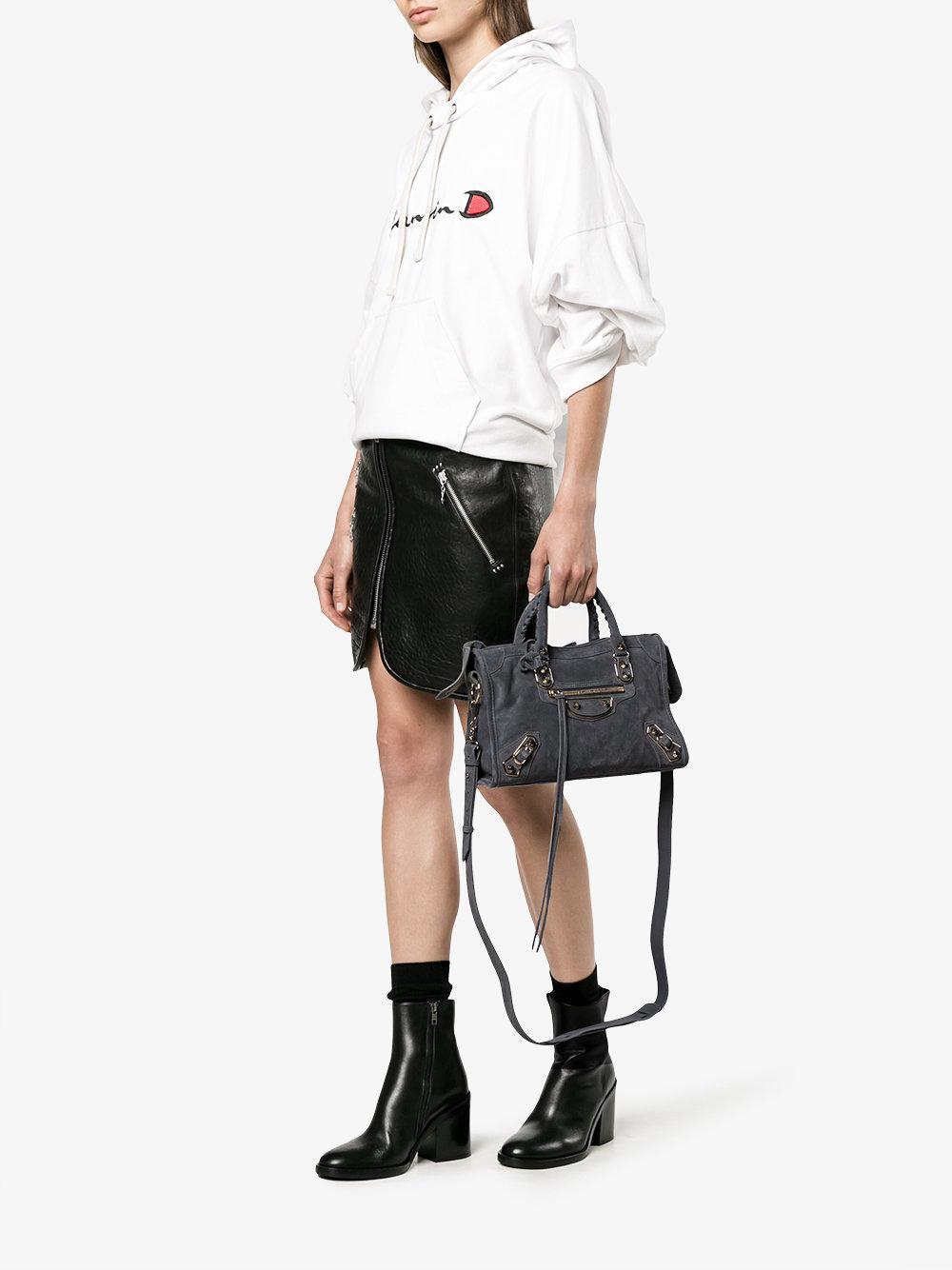 Balenciaga Classic City Small Tote Bag in Grey (Grey)