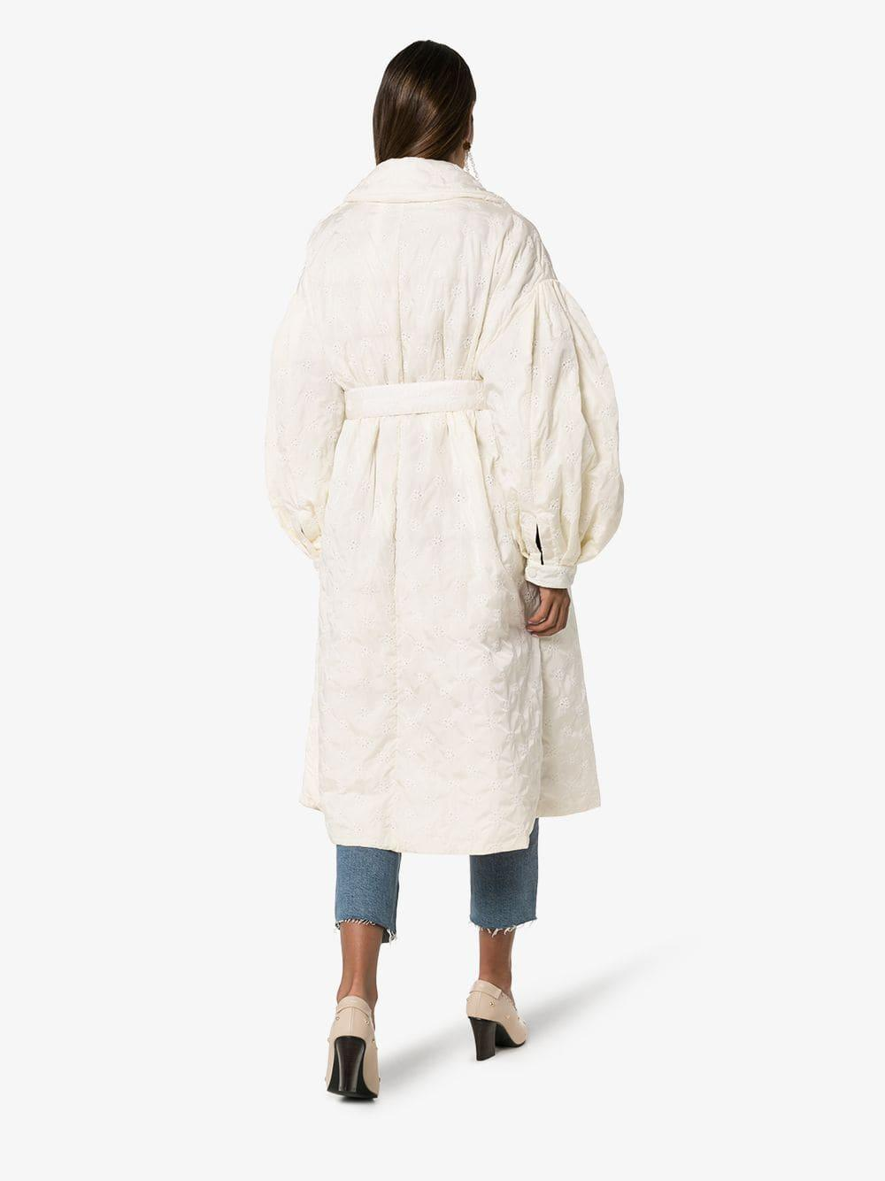 248c34a06 Women's White X Simone Rocha Dinah Belted Trench Coat