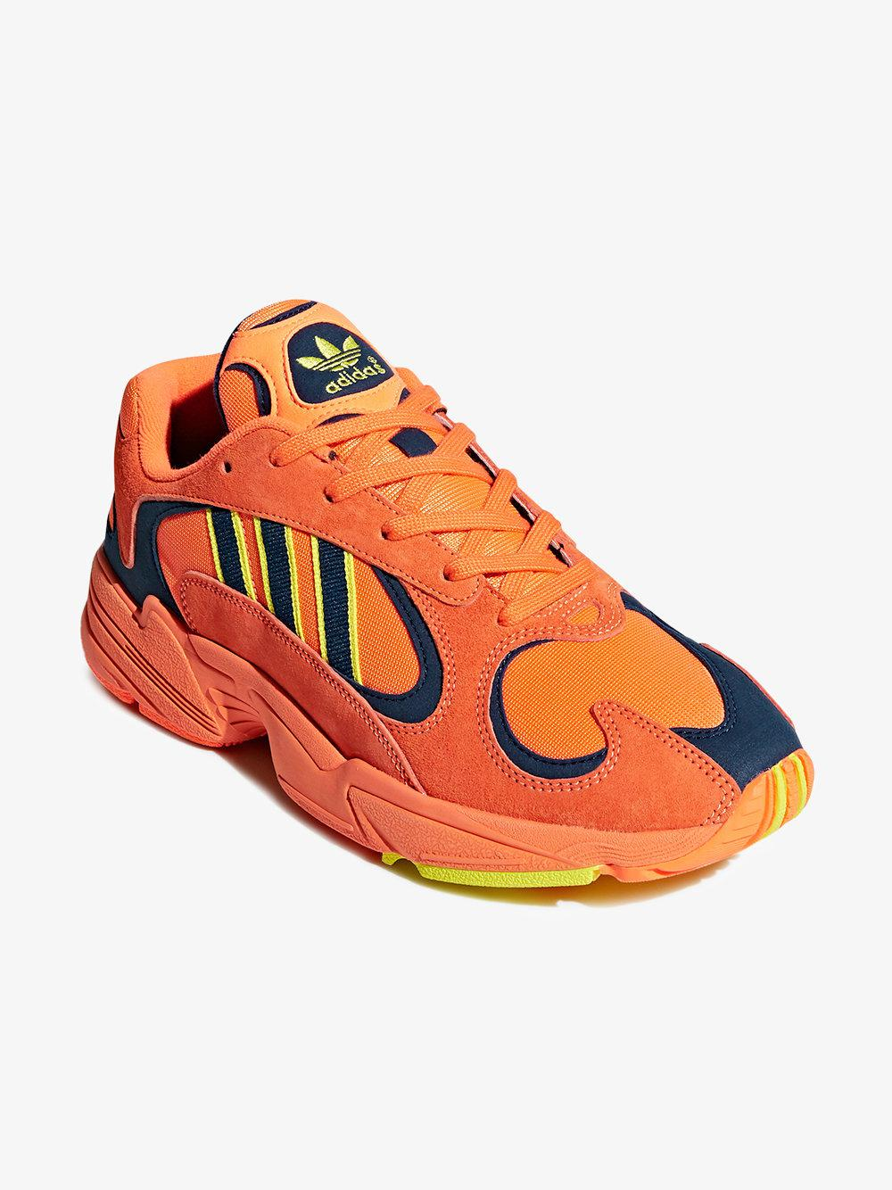 1a3d982e05e Lyst - adidas Originals Yung 1 Trainers Orange in Orange for Men ...