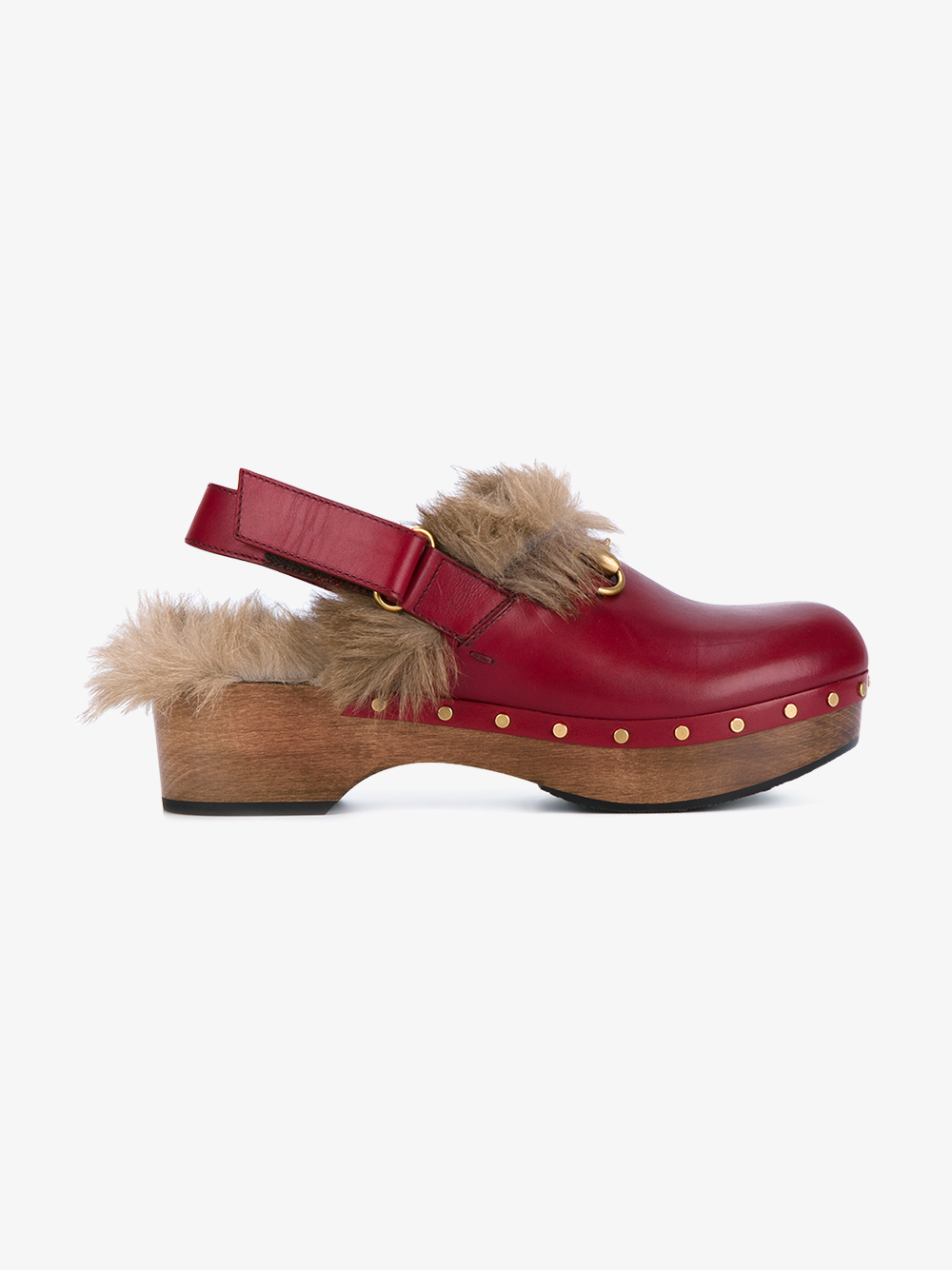 Kangaroo Red Leather Shoes