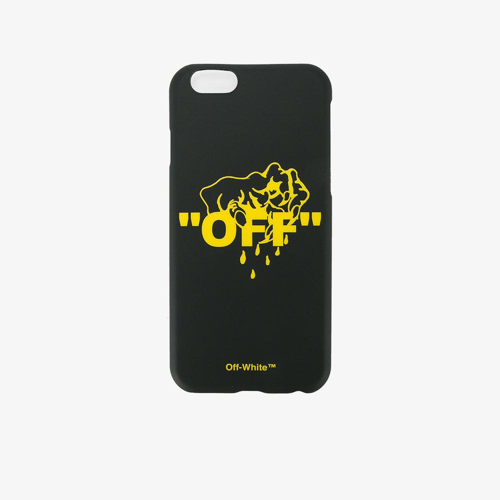 sports shoes a8634 079b7 Off-White c/o Virgil Abloh Black Hands Off Iphone 6 Case