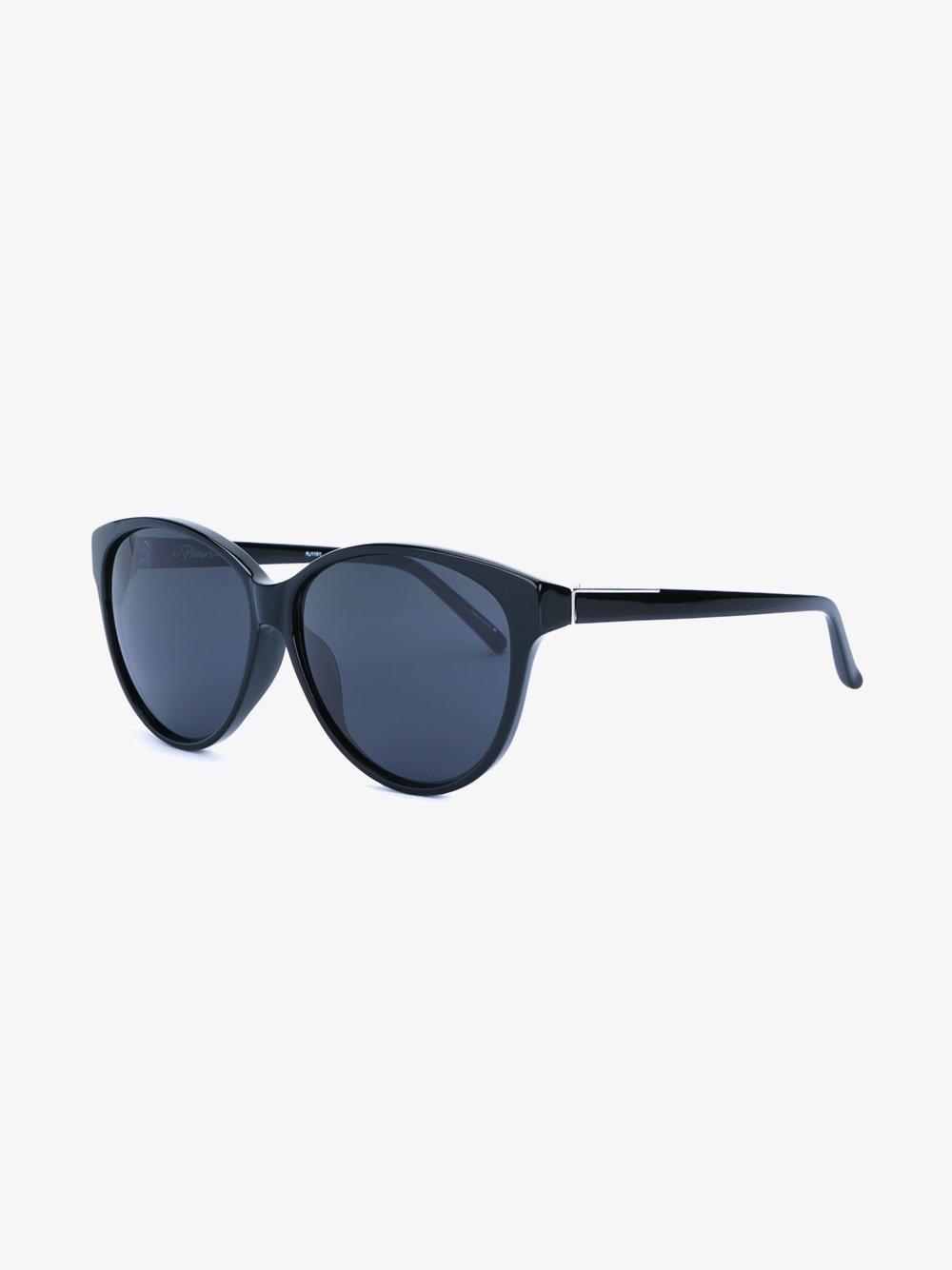 Linda Farrow Cat Eye Frame Sunglasses in Black