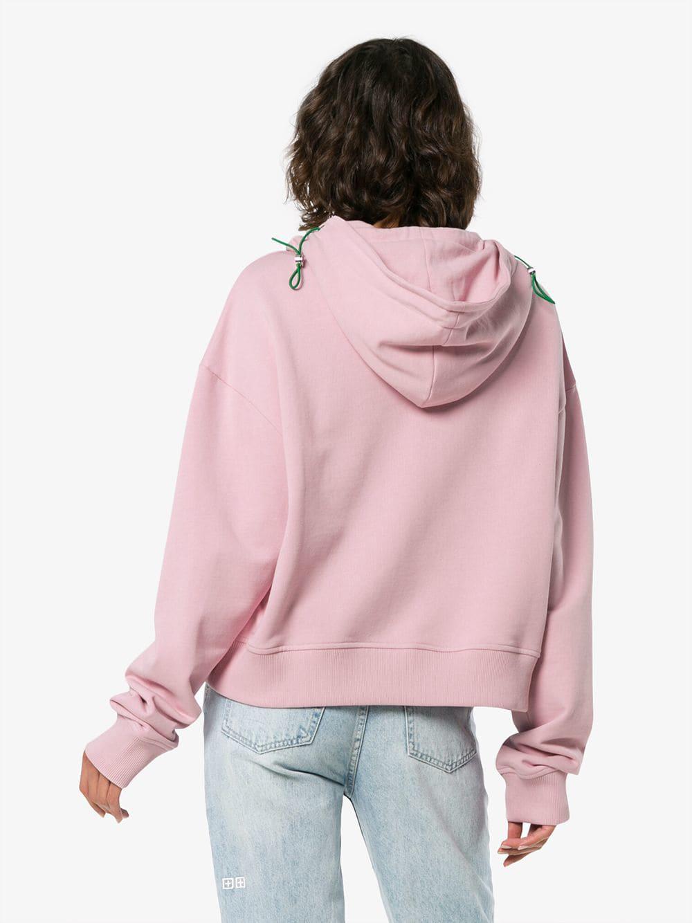 Hooded Late Lyst Fullscreen Pink Sweatshirt View Slogan Mikati Mira ZgwanqnR