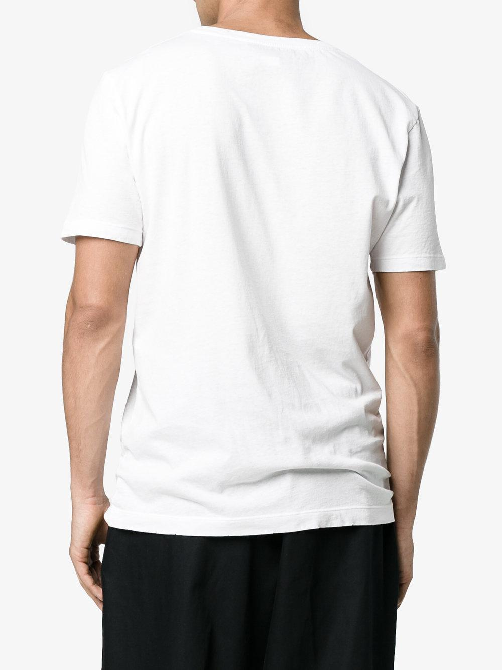 b060827017f Lyst - Gucci Fake Logo T-shirt in White for Men