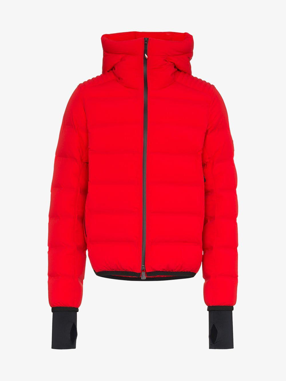 ae38c582588 Moncler Grenoble - Red Padded Feather Down Jacket for Men - Lyst. View  fullscreen