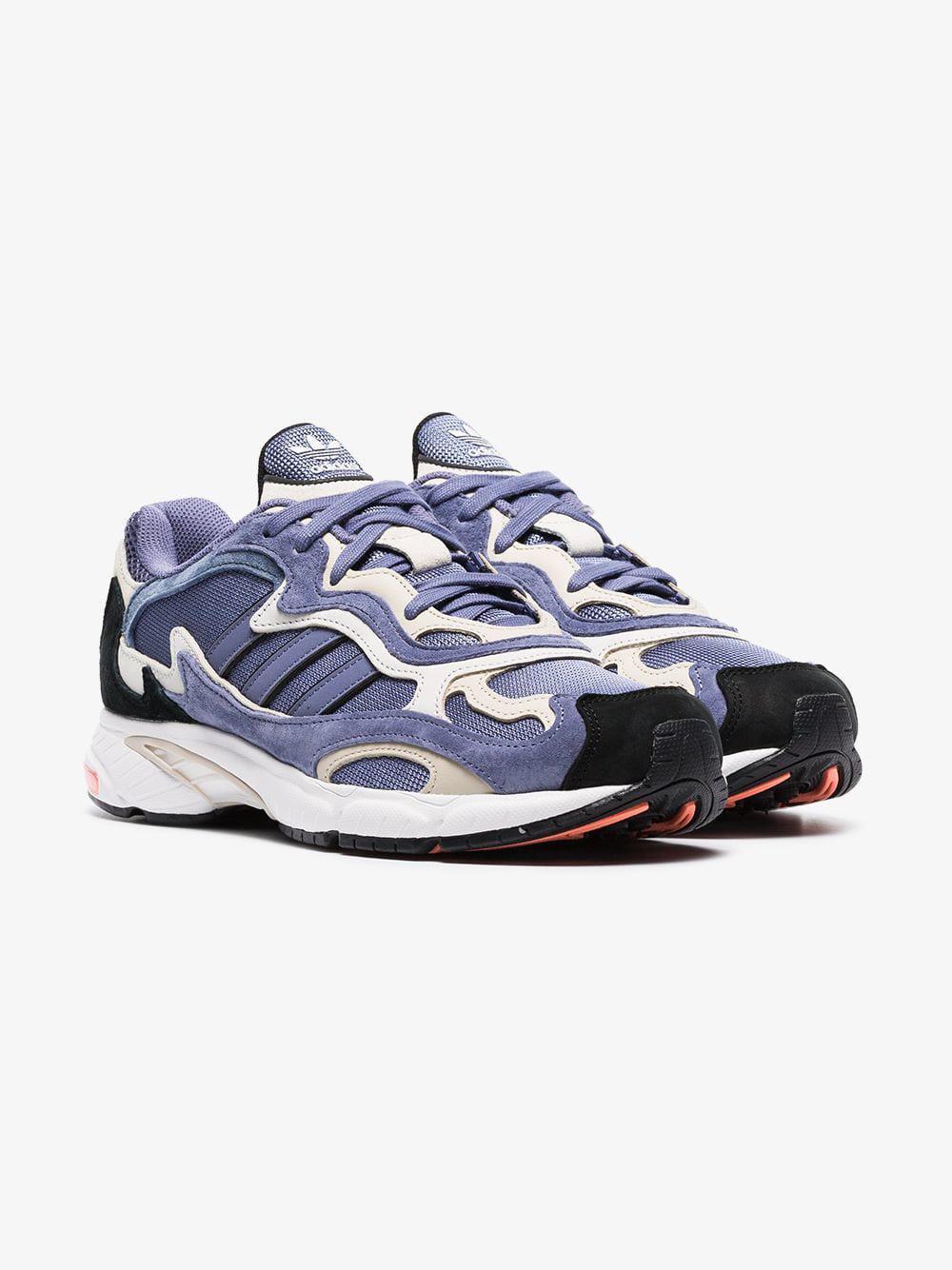 new style f6a2a feb99 adidas. Men s Blue Temper Run Sneakers