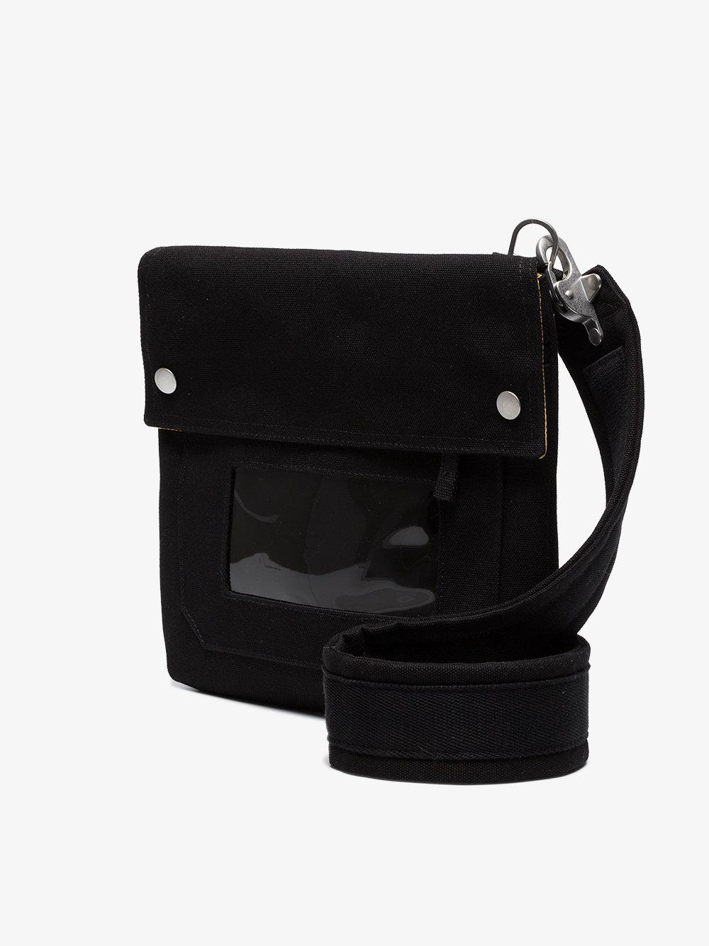 Raf Simons Cotton Black X Eastpak Cross Body Bag for Men