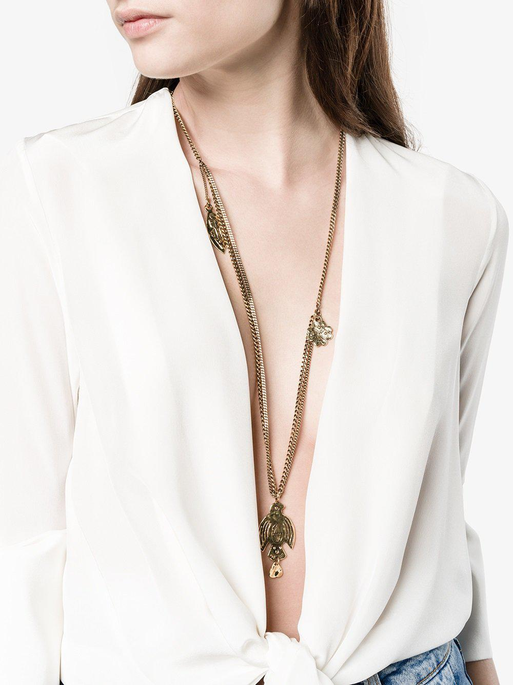 Chloé Maddie Necklace in Grey (Grey)
