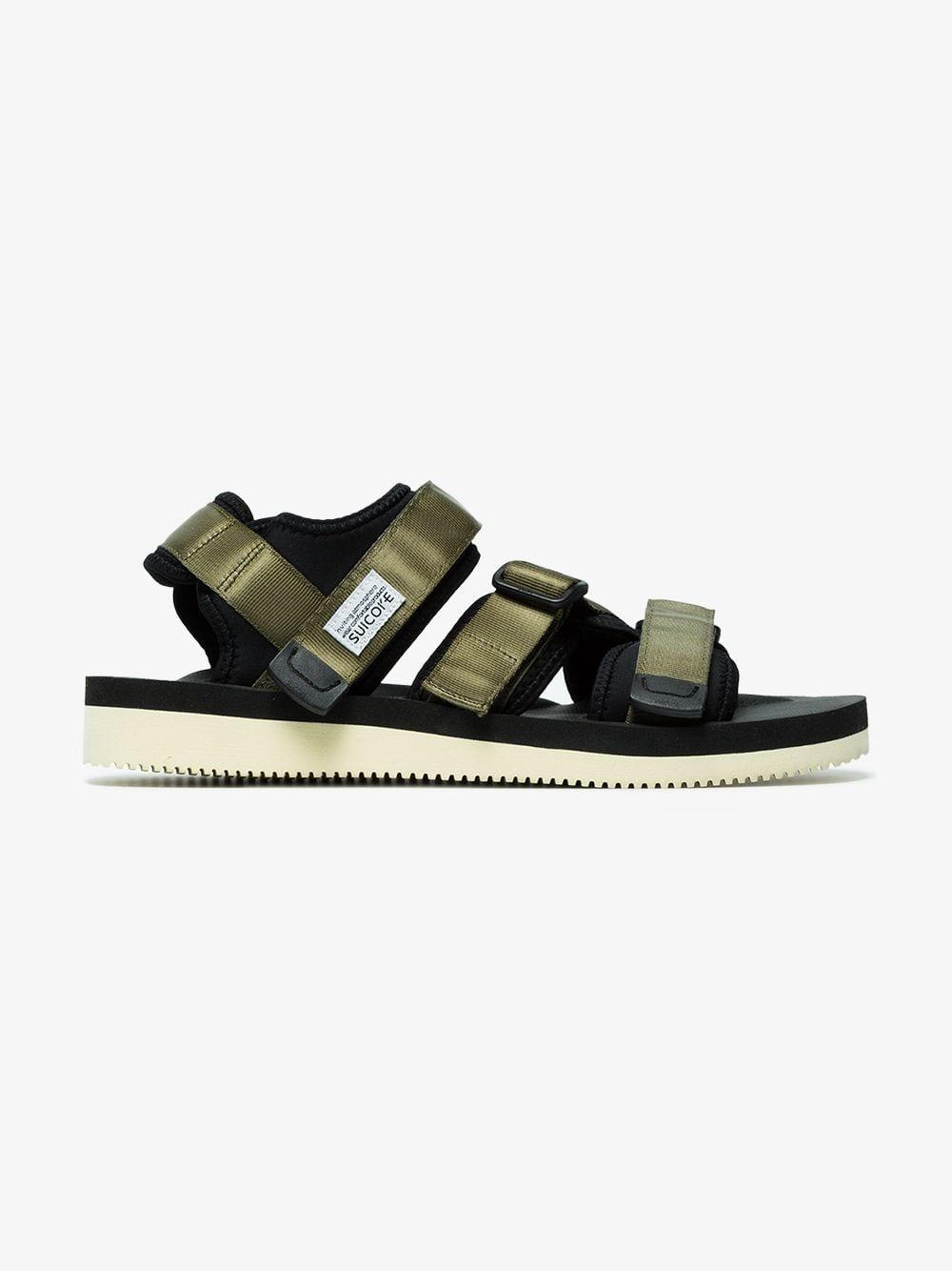 ce48a249dd Suicoke - Green Kisee Sandals for Men - Lyst. View fullscreen