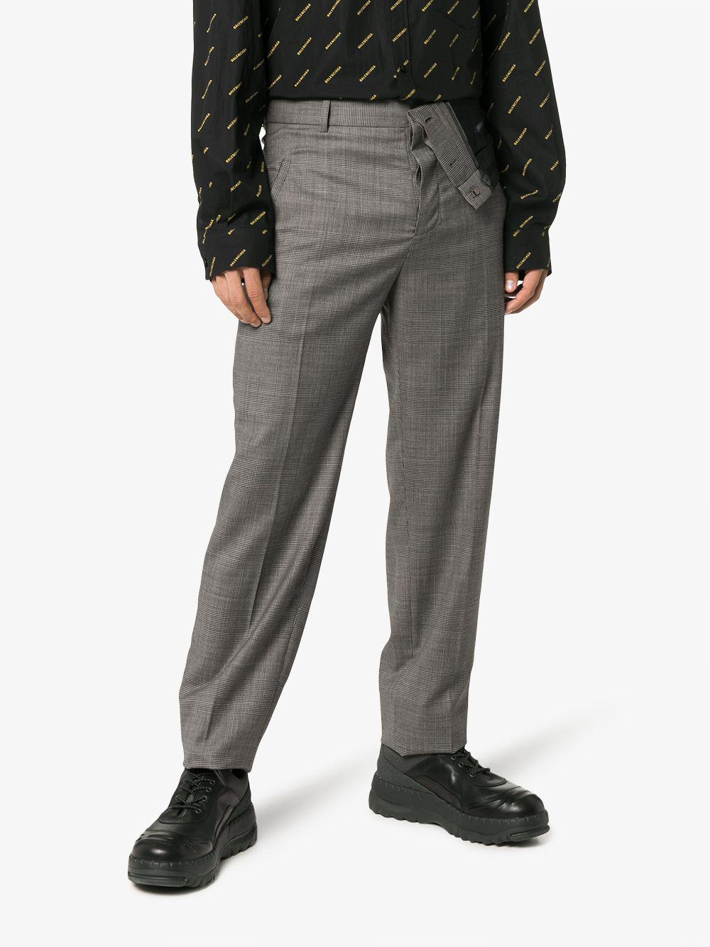 Y. Project Asymmetric Wool-blend Trousers in Grey (Grey) for Men - Save 60%