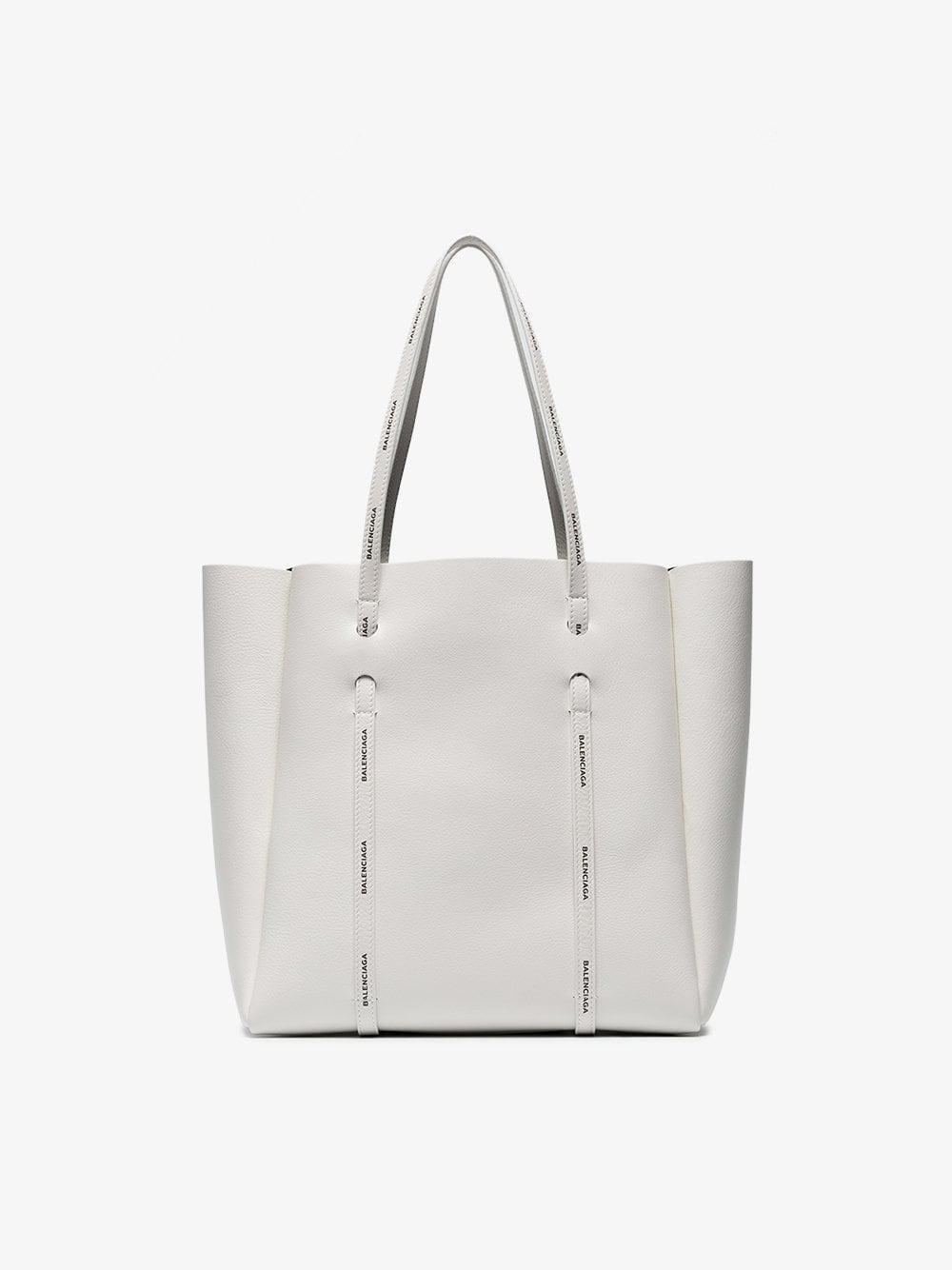 e2db90507c5c Balenciaga - White Everyday Leather Tote - Lyst. View fullscreen