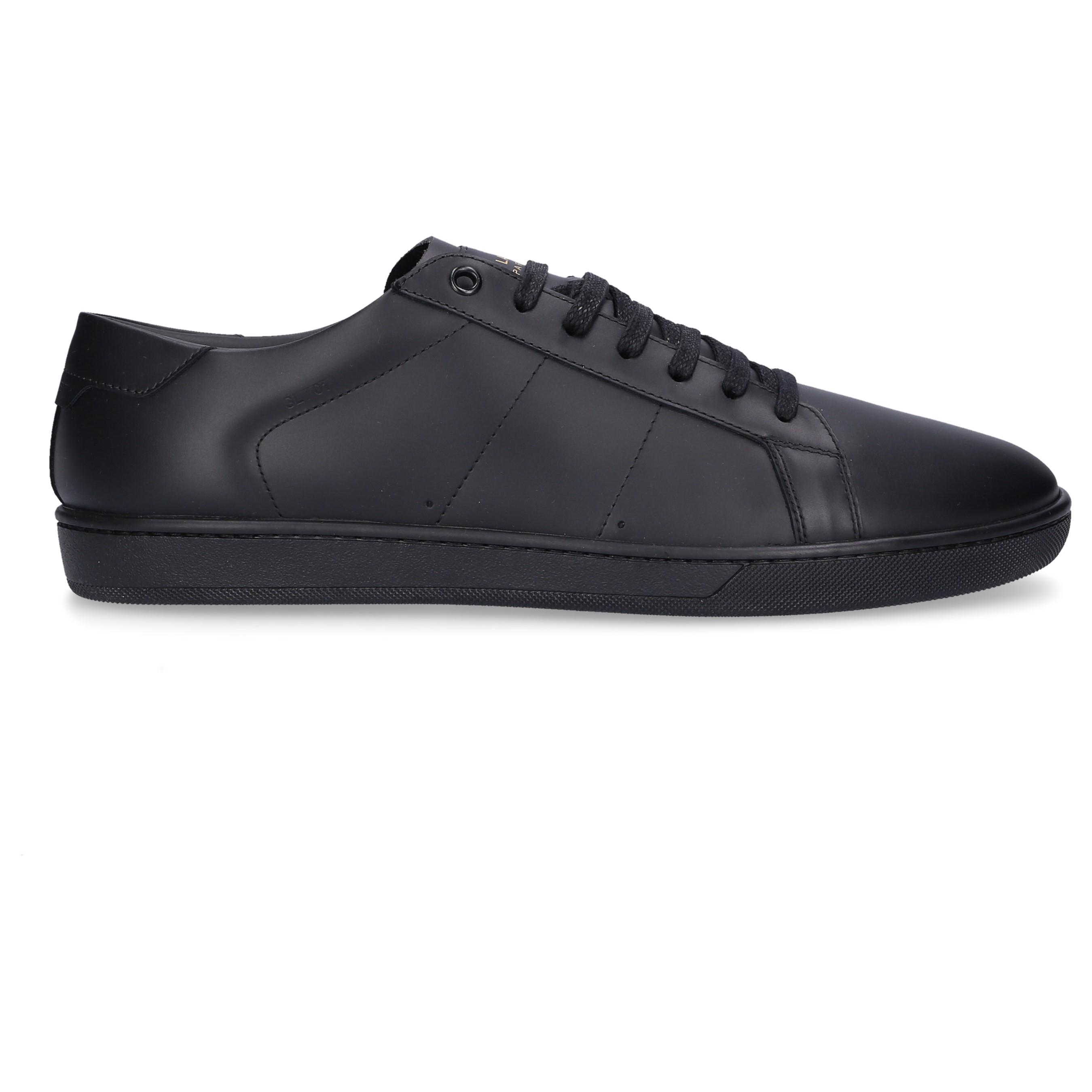 456493d237219 Lyst - Saint Laurent Signature Court Sl 01 Sneaker In Black Leather ...